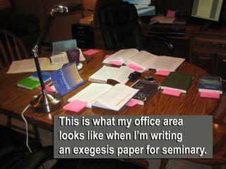 Exegesis-mess