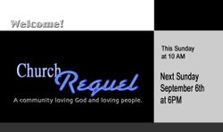Click to see the Church Requel website.