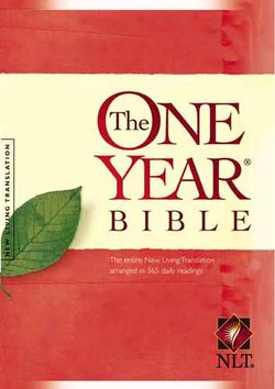 This is the New Living Translation version. Click on image to go to Amazon.com to read more about it.