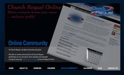 Click here to go to Church Requel's Online Community website.