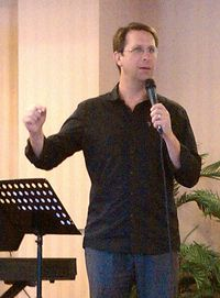 Click on image to see larger photo of Jeff teaching.