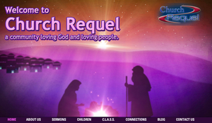 Click on image to see the new Church Requel website
