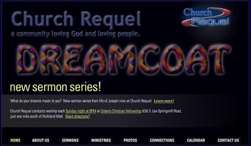 Click on image to go to new front page of ChurchRequel.org website!
