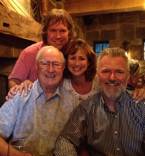 Dad, Kimberly, Todd, and Mark