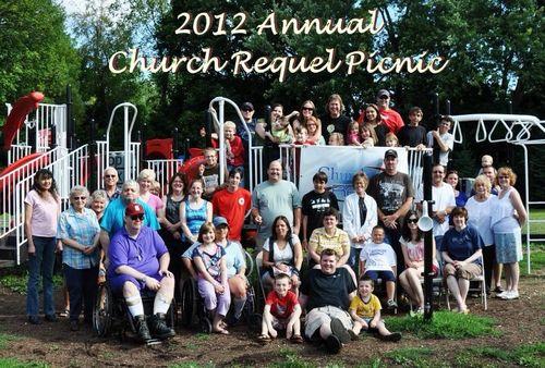 Church Requel Picnic, July 28, 2012