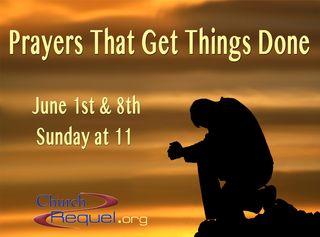 Poster-Prayer