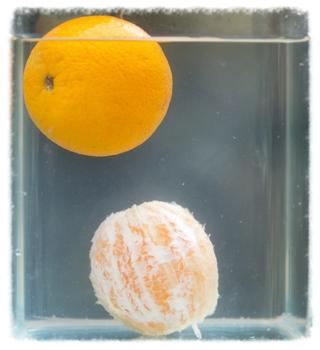 Orangesinkfloat