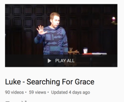 Click to see the Luke sermon playlist!