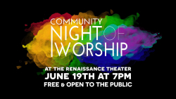Community Night of Worship 2018