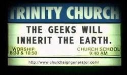 Geekschurchsign
